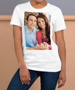 Kişiye özel fotoğraf baskılı tişört tasarımı size özel üretilmektedir.