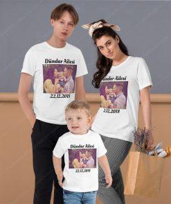 Aile Kombini Tişörtler